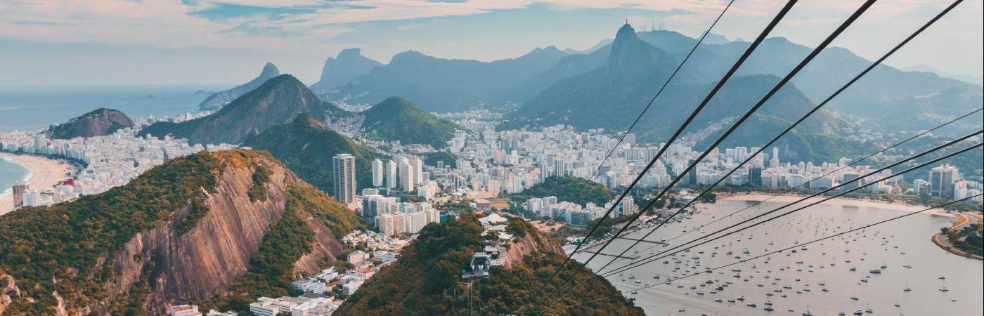 Téléphérique du Pain de Sucre à Rio de Janeiro