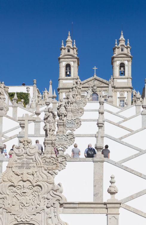 Sanctuaire du Bon Jésus du Mont à Braga