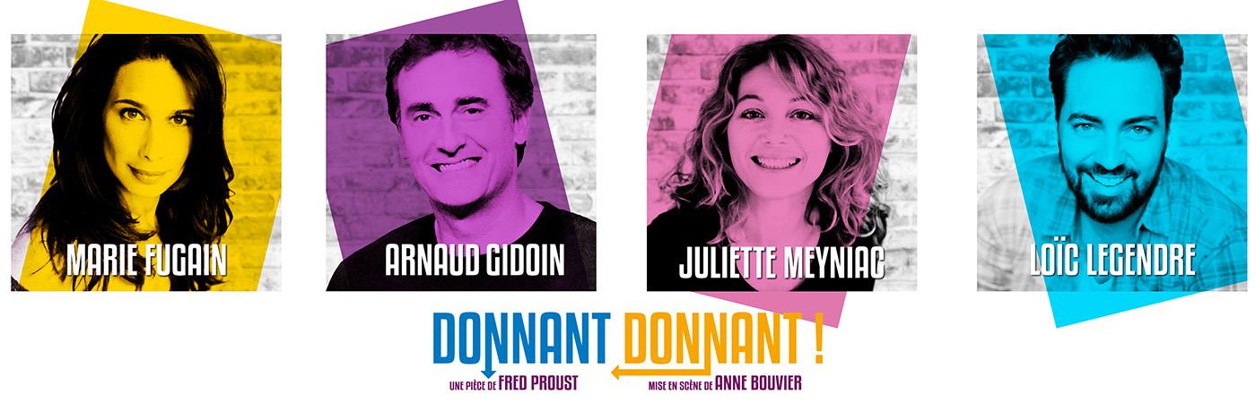Donnant Donnant au Théâtre de Paris