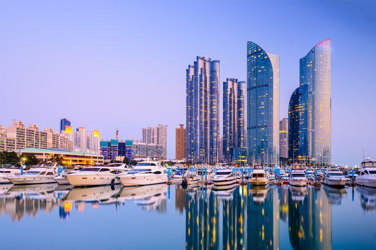 Port de plaisance de Haeundae à Busan
