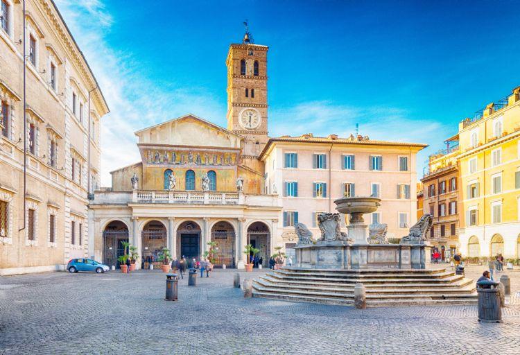 Basilique Sainte-Marie-du-Trastevere à Rome